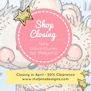 Meljen's Designs Shop is Closing!