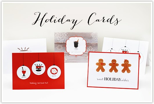 Holiday Cards by Paper & Party Love