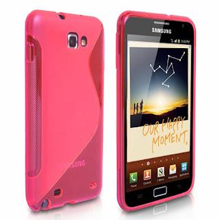 Samsung Galaxy Note Got a Flashy Pink Makeover