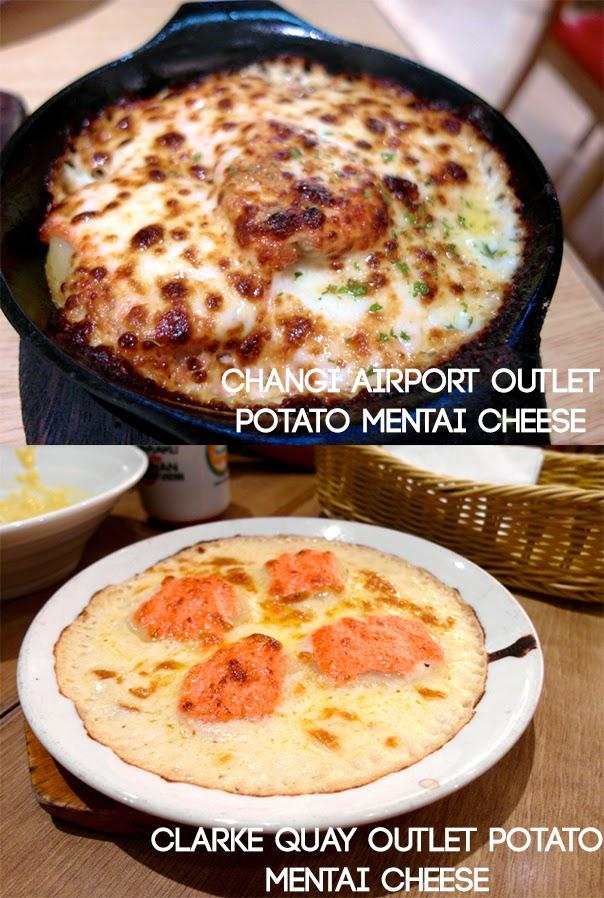 Pasta De Waraku Restaurant Clarke Quay The Central Outlet Japanese Food Potato Mentai Cheese Review lunarrive blog Singapore