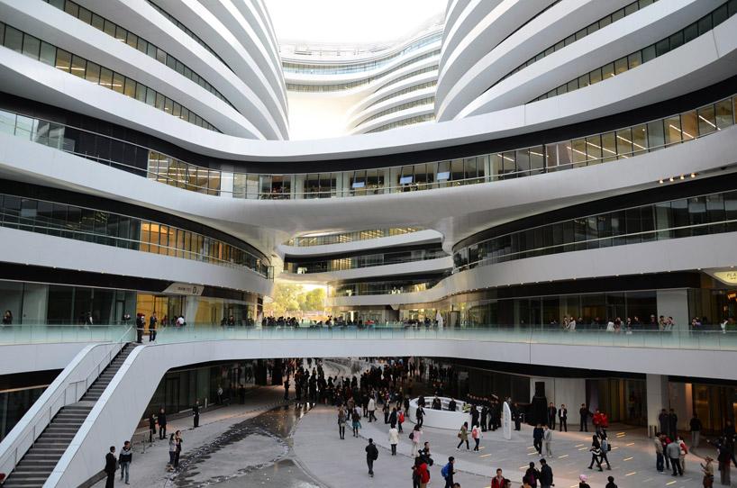 5 obras de Zaha Hadid vistas desde un satélite (Arquitectura)