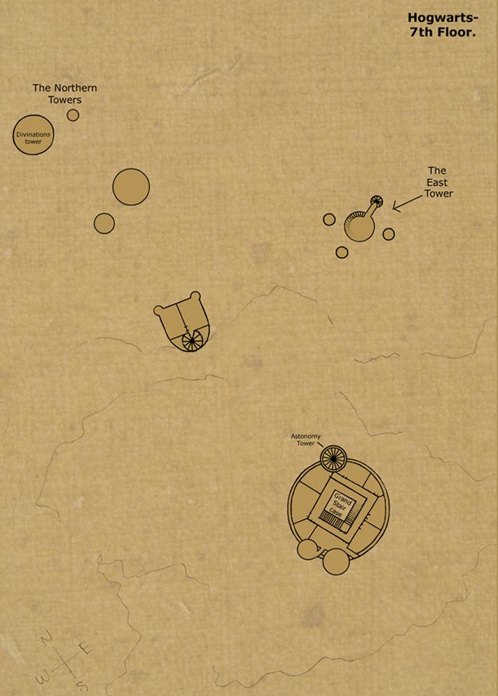 Wizarding World Mapa Huncwotów I Plan Hogwartu