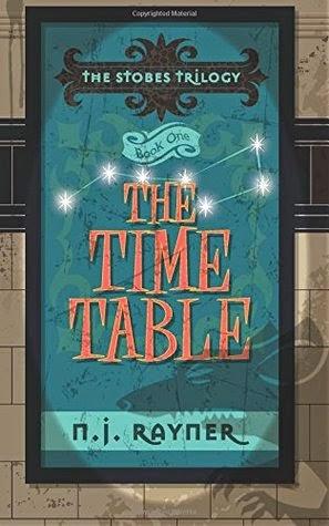 n.j. rayner, the time table, the stobes trilogy, novel, london