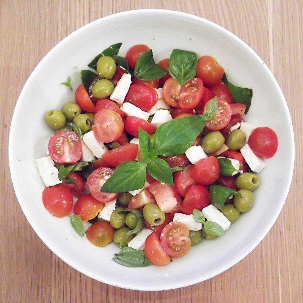 Recipe Scrapbook: Tomato Feta Salad