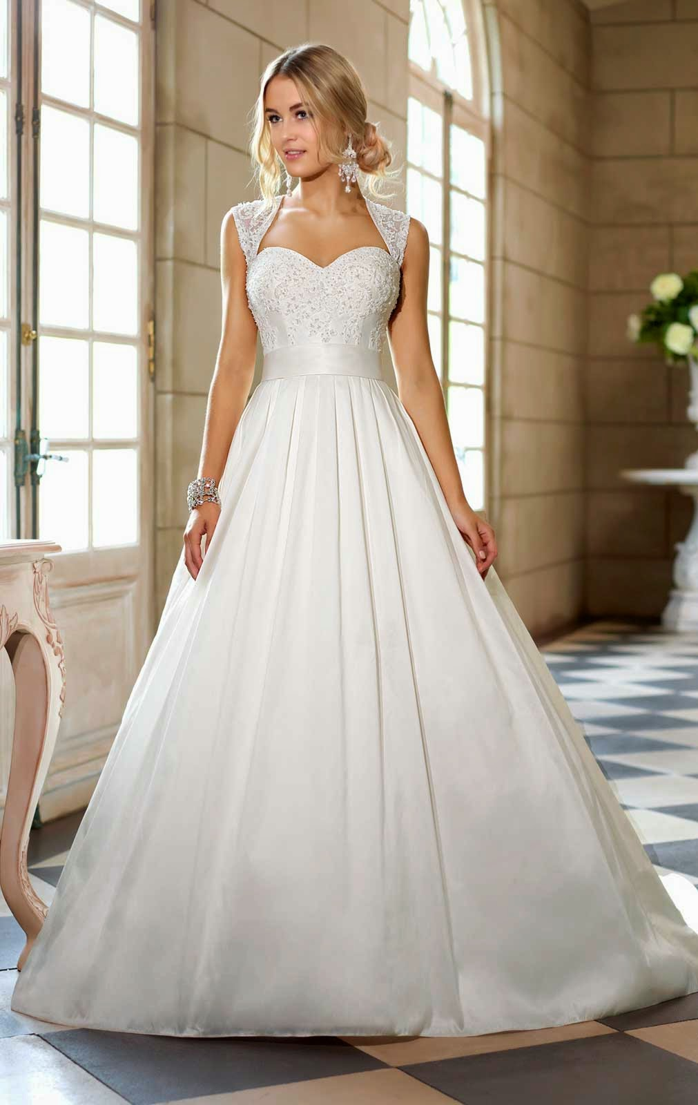 White Wedding Dresses with Bling Photos HD Concepts Ideas