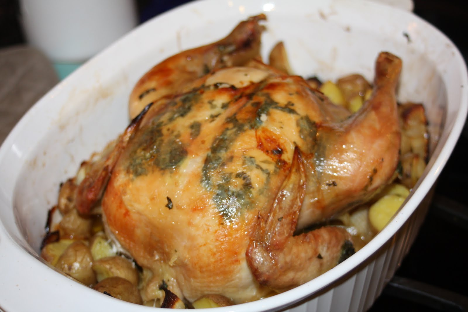 ... Fun Food: Secret Recipe Club: Jamie Oliver's Perfect Roast Chicken