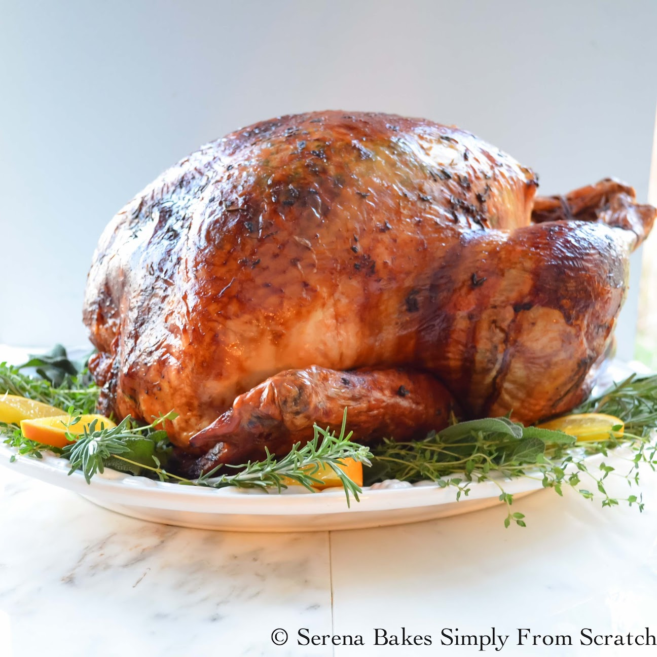 Super Moist Turkey Baked In Cheesecloth and White Wine is a Thanksgiving Must Make!