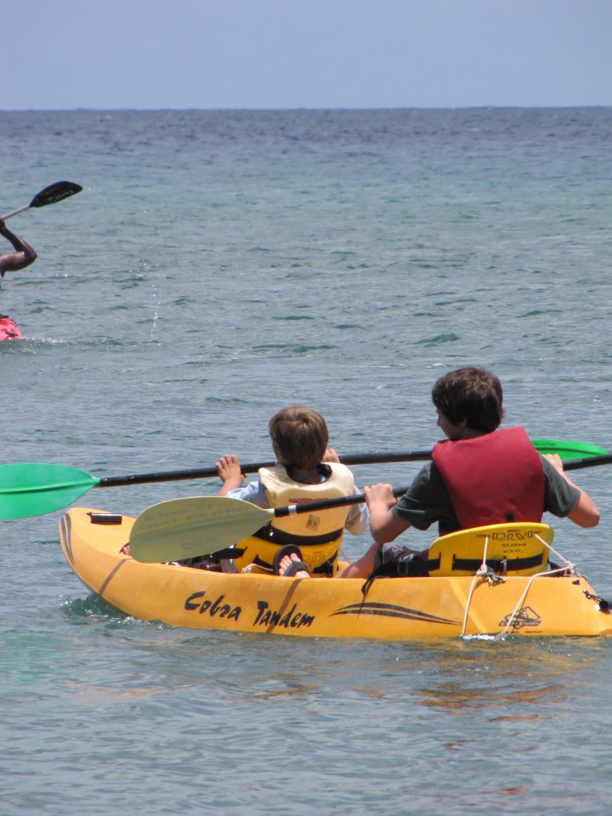 Kayak For Kids Simon And Solomon Westbrooks Adventures