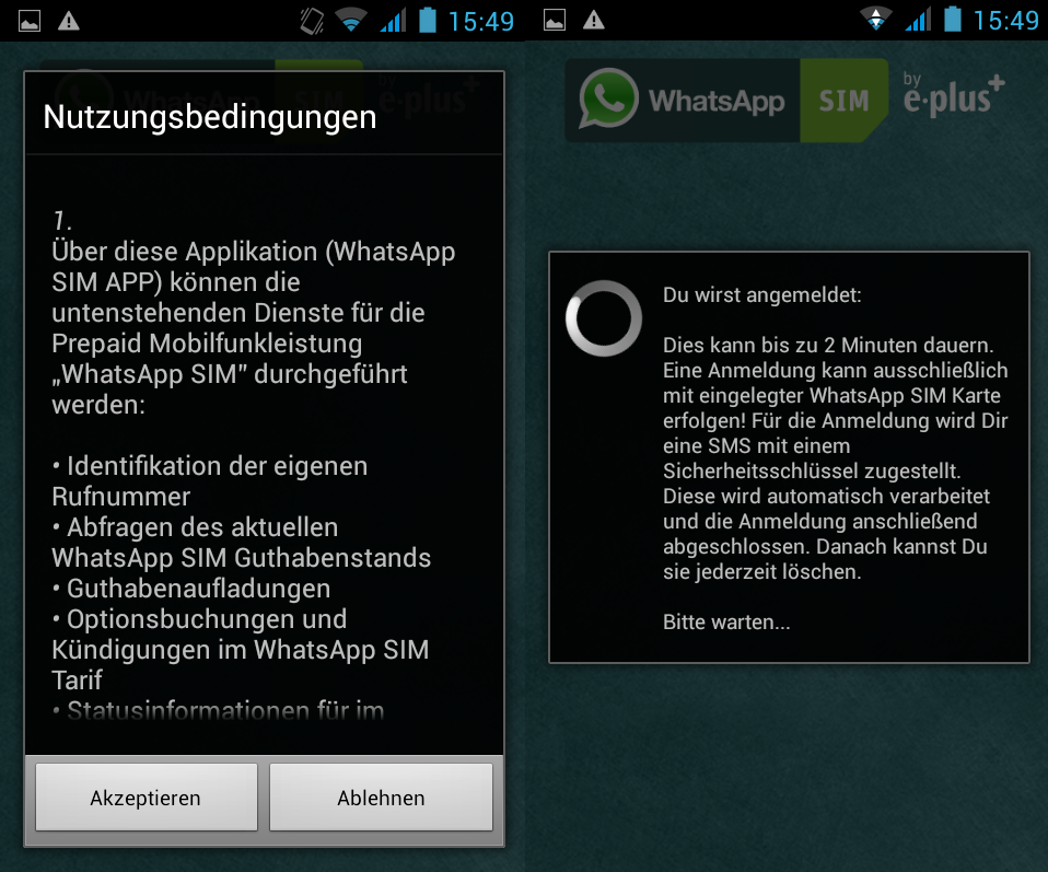 Whatsapp verifizierung wartezeit verkürzen