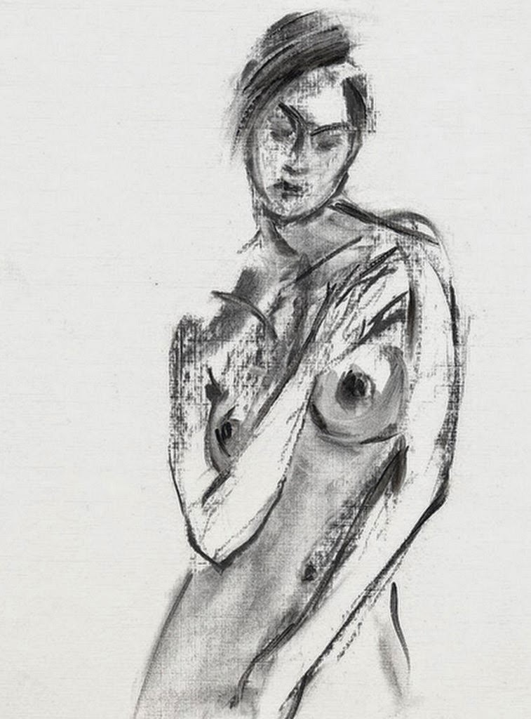 dibujo-a-lapiz-desnudo-femenino-escorzo