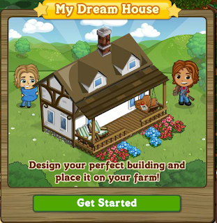 FarmVille Dream House Notification Popup