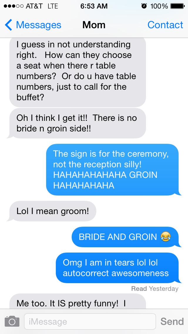 Doeblerghini Bunch - Bride & Groin Autocorrect