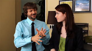 the lizzie bennet diaries - the weird hand gestures of mr collins
