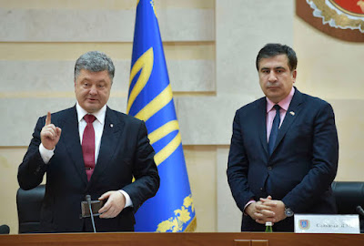 Saakashvili became a citizen of Ukraine and becomes a head of the Odessa regional state administration.