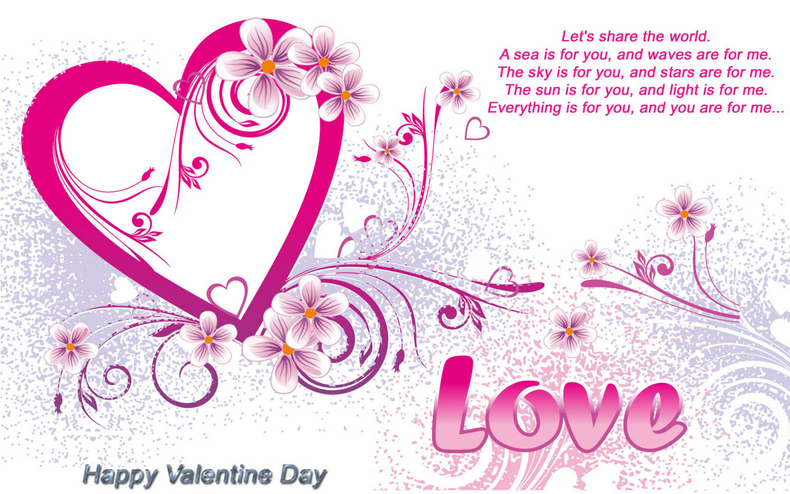 Wallpaper valentines day greetings valentines day greetings m4hsunfo