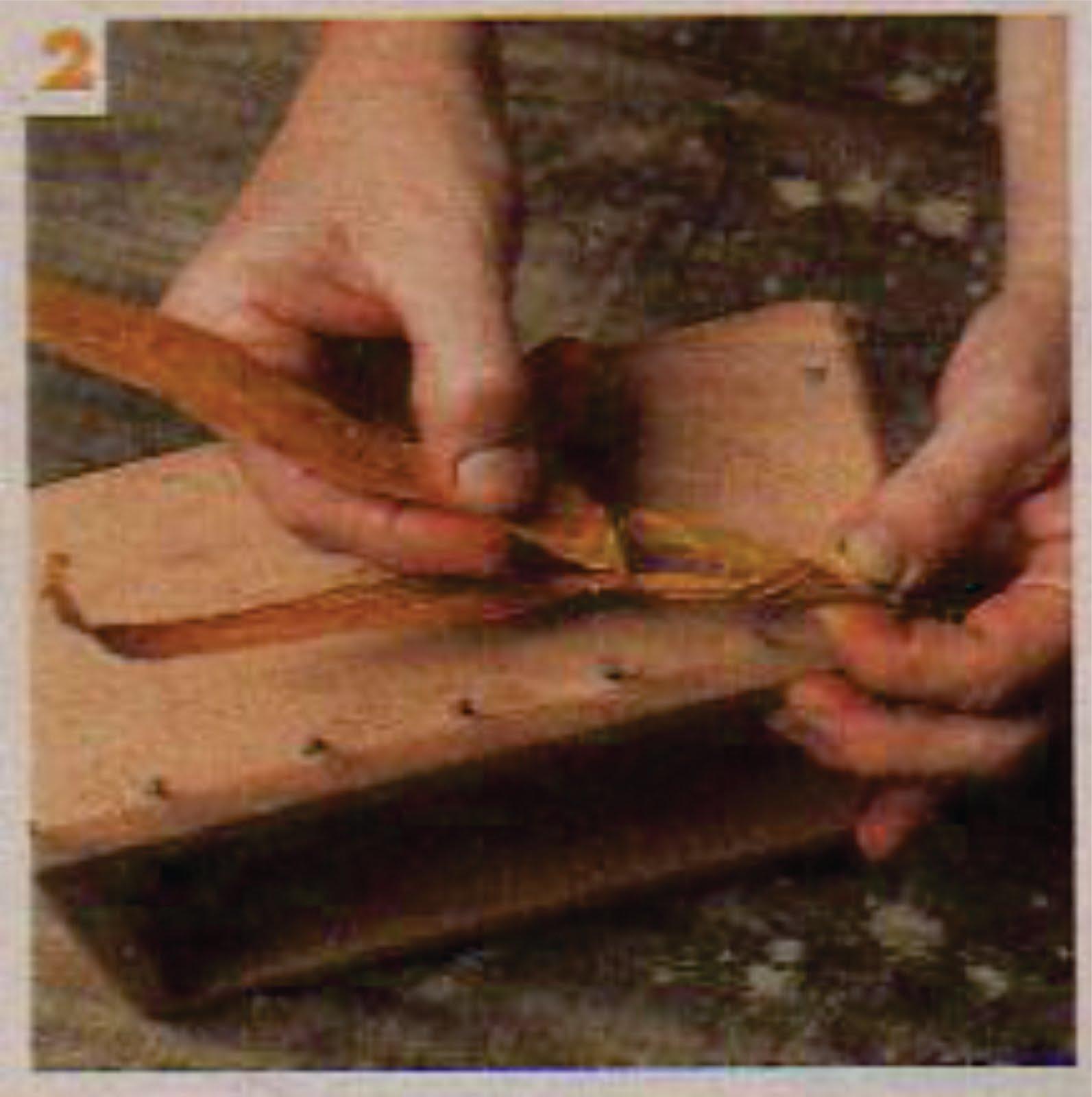 Como Fazer Tudo em Artesanato: Como Fazer Cestas e Caixas de Palha de  #9C462F 1593x1600