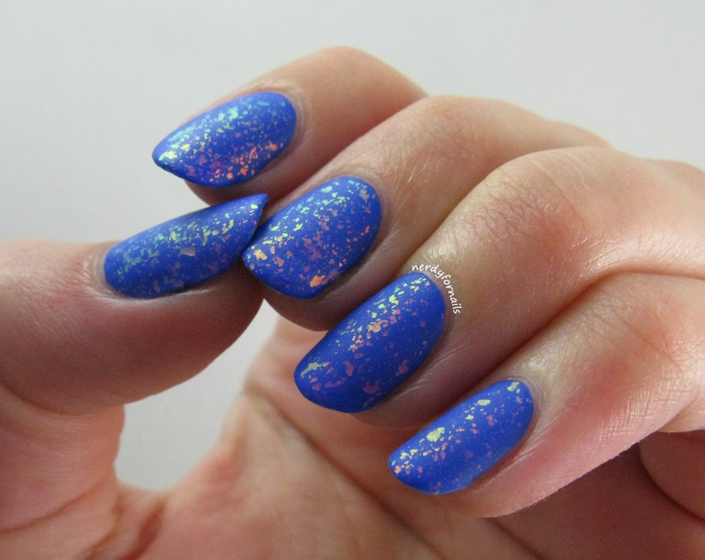 Sinful Colors Endless Blue with Matte Flakies