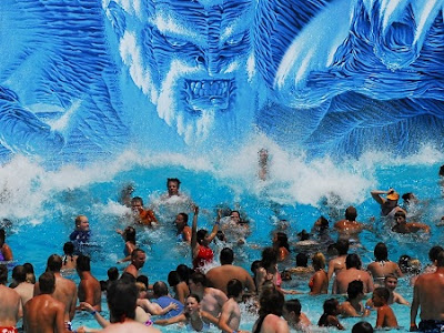 Neptune's Rage wave pool