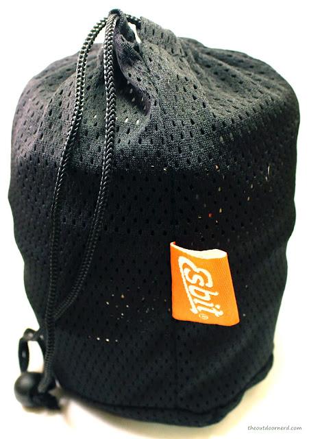 Esbit 5-Piece Trekking Cook Set - Inside Mesh Bag