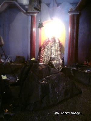 Purnagiri Mata Temple in Joshimath in the Garhwal Himalayas in Uttarakhand