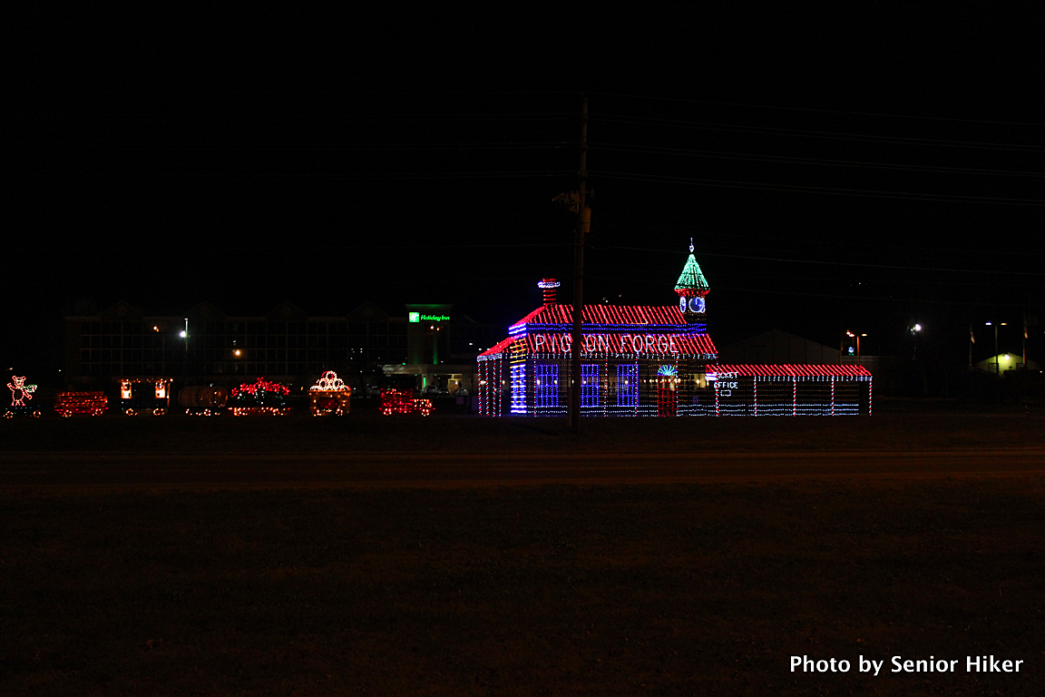 More Christmas Lights From Pigeon Forge, Tennessee