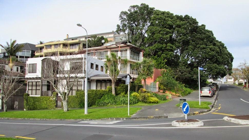 Quartier résidentiel Auckland