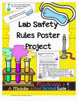 Middle school survival guide lab safety