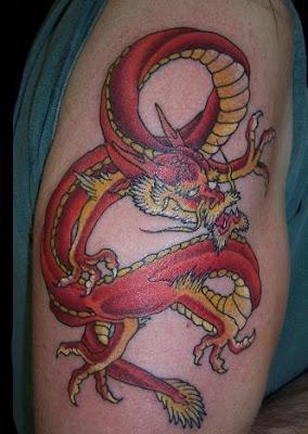 Dragão Vermelho Chinês