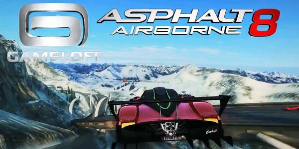 Asphalt 8 Airborne v1.7.0 Full Türkçe Para Hileli Apk İndir