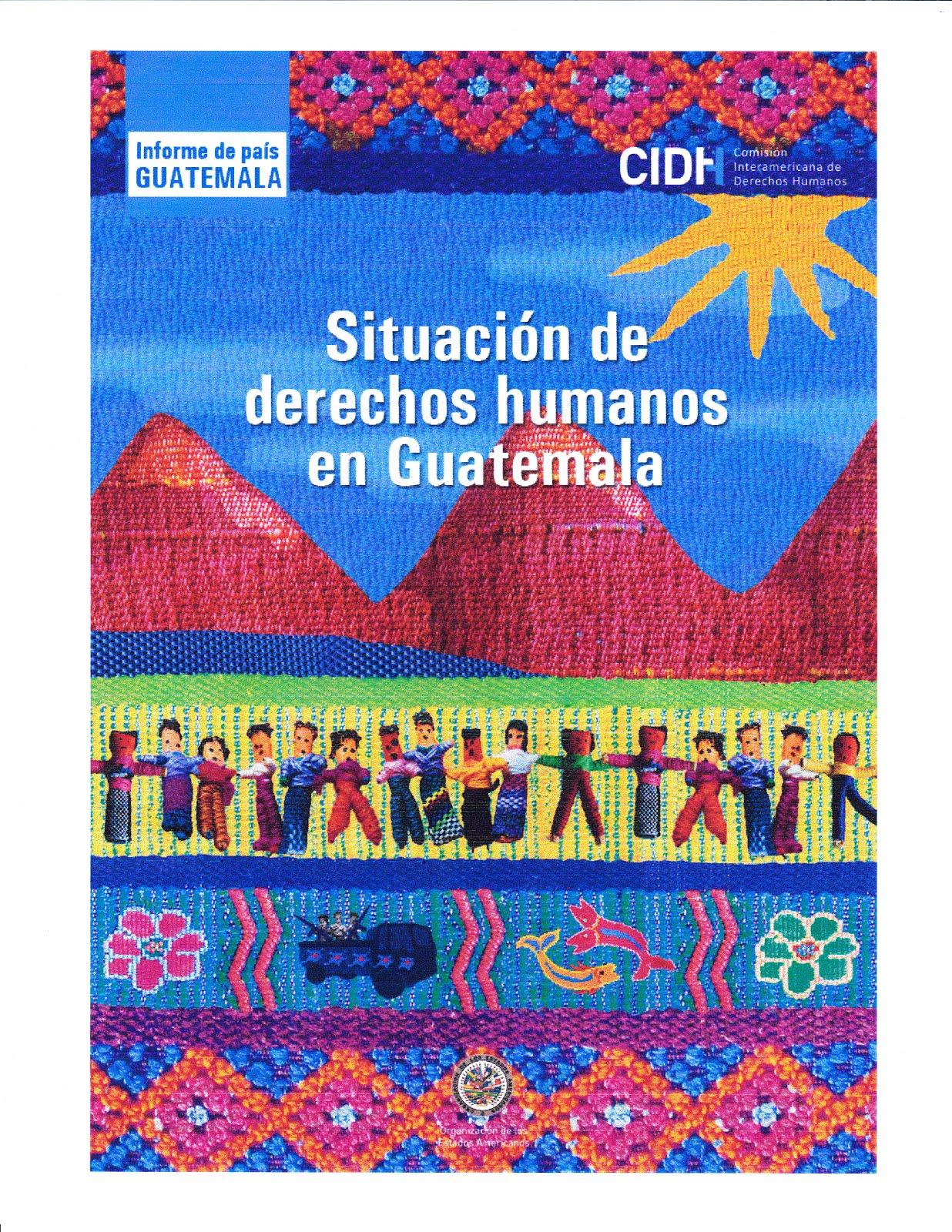 Situación de los derechos humanos en Guatemala