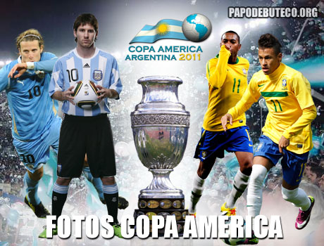 Fotos das quartas de final da Copa América 2011