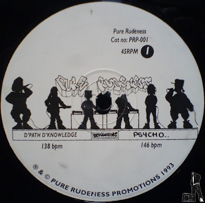 Pure Rudeness Productions ‎– Pure Rudeness EP (1993, VLS, 192) UK