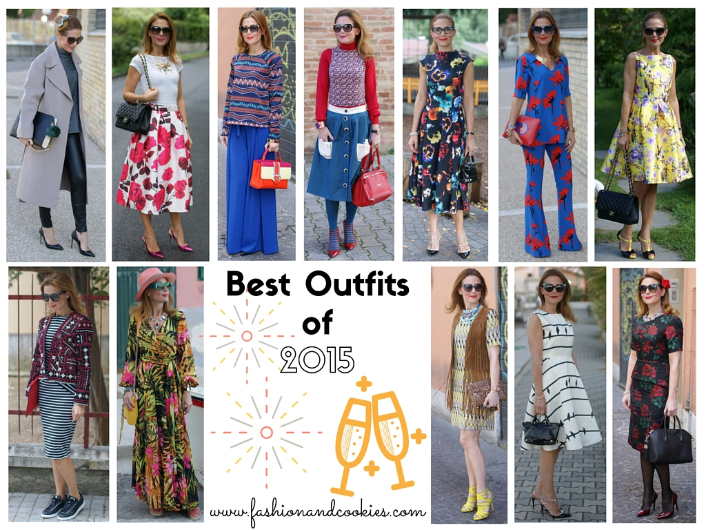 Best outfits of 2015 on Fashion and Cookies fashion blog, fashion blogger style
