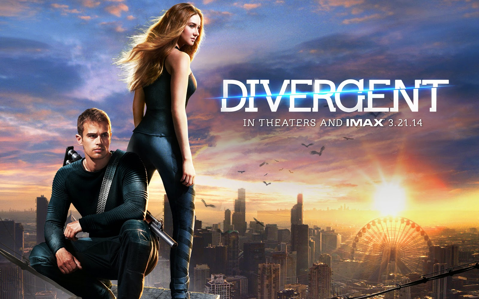 teenage fanatic: 'divergent' review (with gif's!)