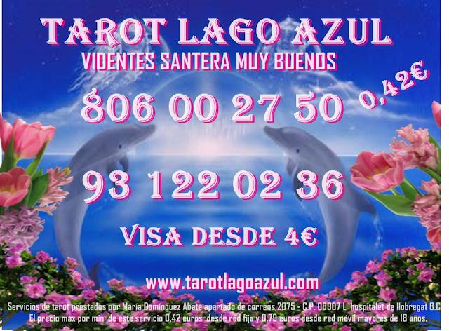 desde 0.42€ por minuto, tarot barato visa, tarot con visa, tarot económico visa, videncia económica, Videncia Natural María 806 barato, vidente certera, vidente en Barcelona,