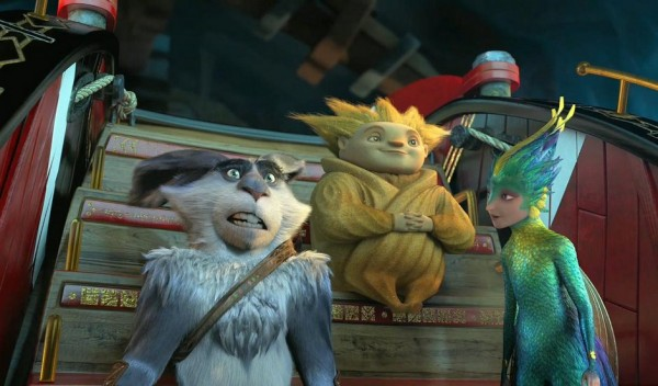 Sandman, Tooth and Bunny in Rise of the Guardians animatedfilmreviews.filminspector.com