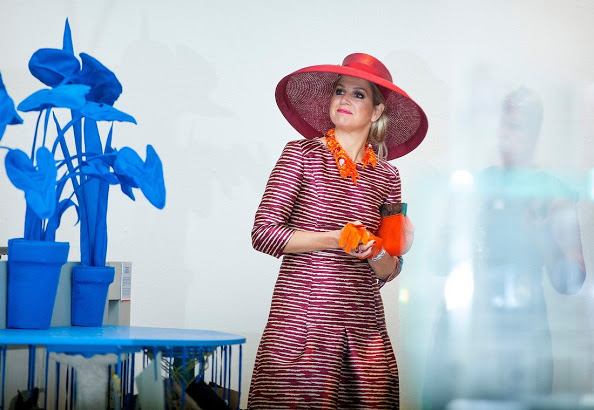Queen Maxima Opens Design Derby Netherlands In Belgium