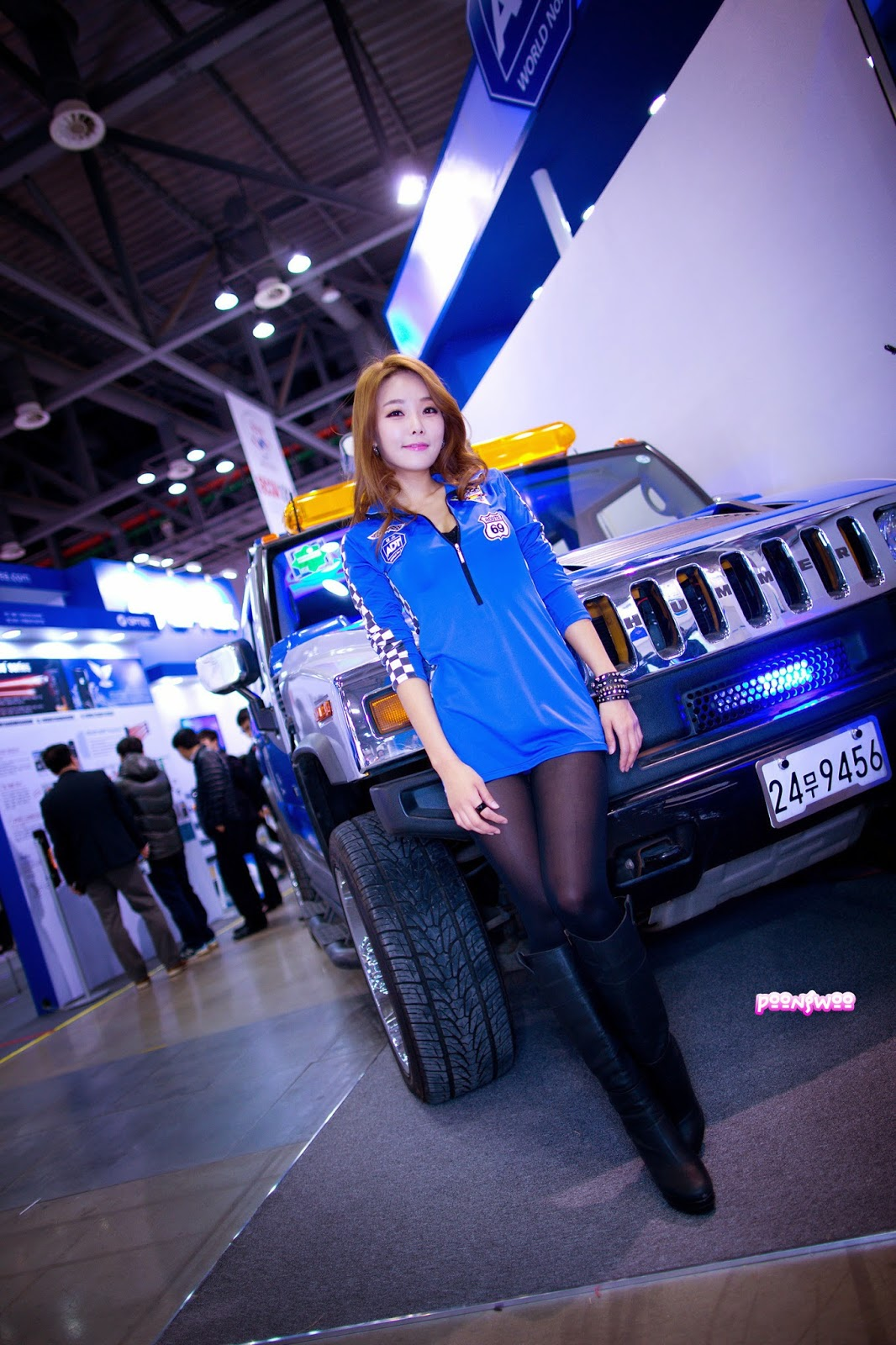 2 Lee Da Hee - World Security Expo - very cute asian girl-girlcute4u.blogspot.com