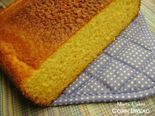 PAN DE MAIZ , Cornbread | Mari's Cakes (English)