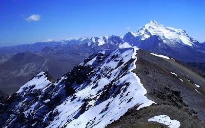 Vista de Chacaltaya – Bolívia