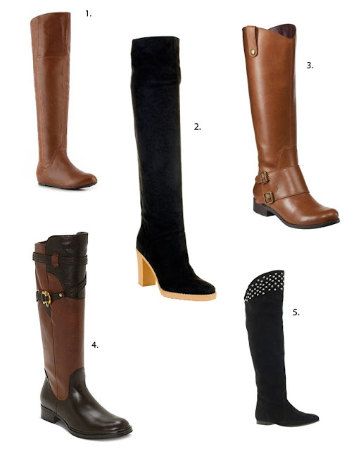 Tall boots from Chinese Laundry, Stella McCatney, Merona Manette, Truth or Dare and ASOS.