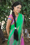 Actress Anjali Rao in Half Saree-thumbnail-3