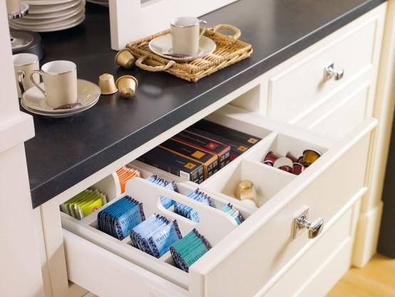 Кухонное пространство: где спрятать всю утварь?