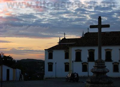 Museu de Arte Sacra de São Cristóvão (SE) fotografado ao final da tarde