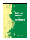 Image of front cover of Critical Studies on Terrorism