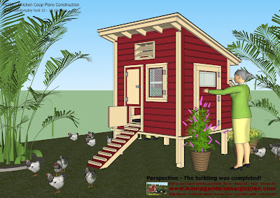 free chicken coop plans for 5 chickens
