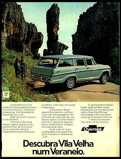 propaganda veraneio - 1973. brazilian advertising cars in the 70. os anos 70. história da década de 70; Brazil in the 70s. propaganda carros anos 70. Oswaldo Hernandez;