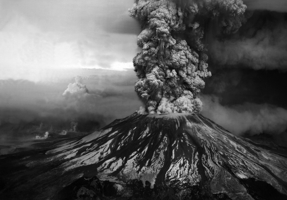 Mt St Helens May,18,1980 Eruption