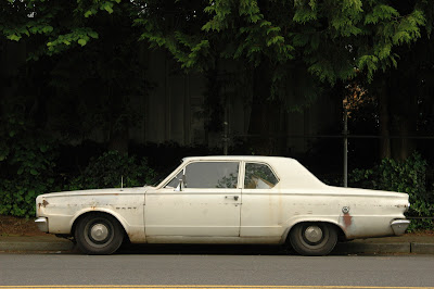 1966 Dodge Dart 2-door sedan.