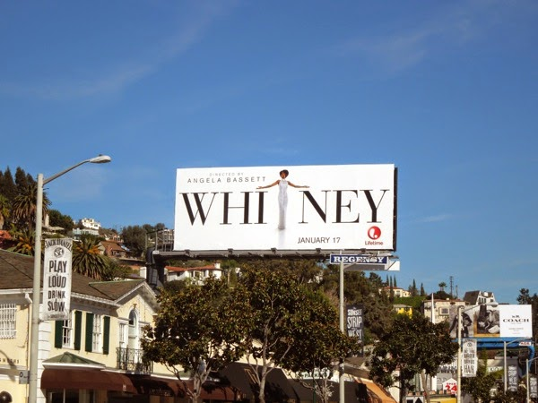 Whitney TV movie billboard